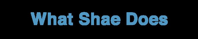 WhatShaeDoes